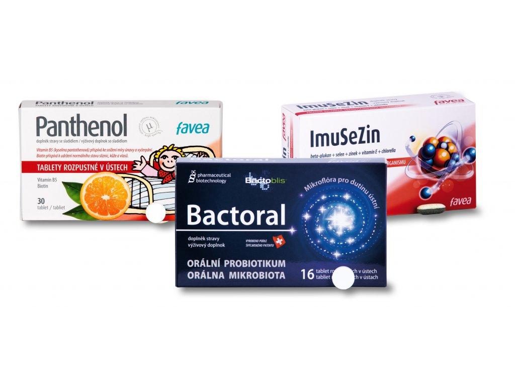 Imunita bactoral+imusezin+panthenol 2 foto